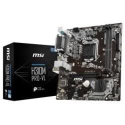 Płyta MSI H310M PRO-VL/H310/DDR4/SATA3/USB3.0/PCIe3.0/s.1151/mATX
