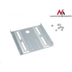 "Adapter redukcja HDD/SSD Maclean MC-655 sanki szyna 3,5"" na 2,5"" metalowy"