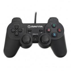 Gamepad Manta MM813 do gier USB Dual Vibration Analog