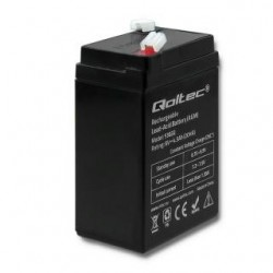 Akumulator AGM Qoltec | 6V | 4,5Ah