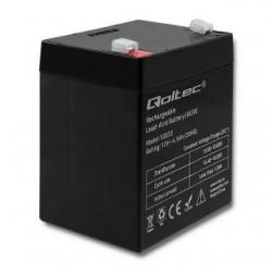 Akumulator AGM Qoltec | 12V | 4.5Ah | max.1.35A