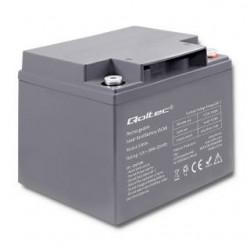 Akumulator AGM Qoltec | 12V | 38Ah | max.11.4A