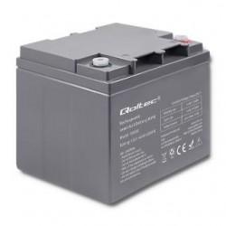 Akumulator AGM Qoltec | 12V | 45Ah | max.13.5A