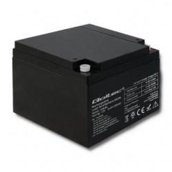 Akumulator AGM Qoltec | 12V | 24Ah | max.7.2A