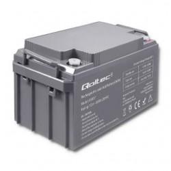 Akumulator AGM Qoltec | 12V | 65Ah | max.19.5A