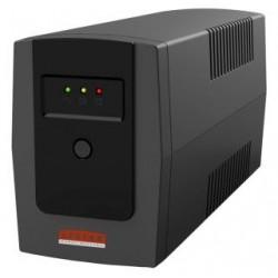 Zasilacz awaryjny UPS Lestar ME-655ss Line-Interactive AVR 2xSCH 650VA/390W BLACK