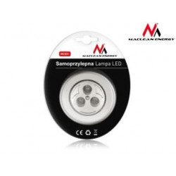 Lampa samoprzylepna 3xLED Maclean MCE01 na baterie 3xAAA