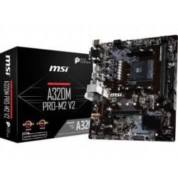 Płyta MSI A320M PRO-M2 V2 /AMD A320/DDR4/SATA3/USB3.0/PCIe3.0/AM4/mATX