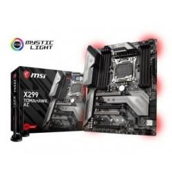 Płyta MSI X299 TOMAHAWK AC /X299/DDR4/SATA3/M.2/U.2/USB3.1/WF/BT/4xPCIe3.0/s.2066/ATX