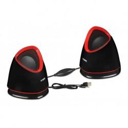 Głośniki 2.0 iBOX Molde Black-Red