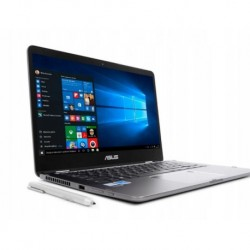 "Notebook Asus ZenBook Flip UX461UA-E1009T 14""FHD touch/i5-8250U/8GB/SSD256GB/UHD620/W10 Black-Grey"