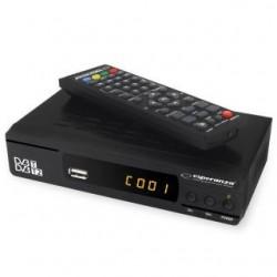 Tuner DVB-T/T2 Esperanza, EV104, czarny