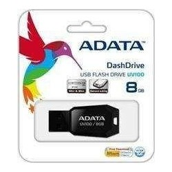 Pendrive ADATA UV100 8GB USB 2.0 black