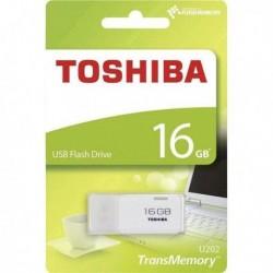 Pendrive Toshiba 16GB U202 (THN-U202W0160E4) USB 2.0 White