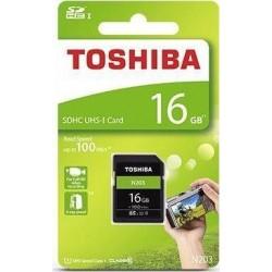 Karta pamięci SD TOSHIBA N203 (THN-N203N0160E4) 16GB UHS-I Class 10