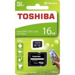 Karta pamięci MicroSDXC TOSHIBA M203 (THN-M203K0160EA) 16GB UHS-I Class 10 + adapter