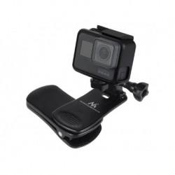 Klips uniwersalny Maclean MC-820 mocowanie do kamer GoPro, Xiaomi, Ekken, SJCam i innych