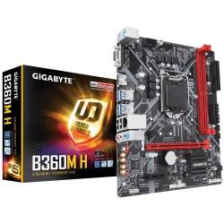 Płyta Gigabyte B360M H/B360/DDR4/SATA3/USB3.0/PCIe3.0/s.1151/mATX