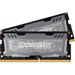 Pamięć DDR4 SODIMM Crucial Ballistix Sport LT 16GB (2x8GB) 2666MHz CL16 1,2V