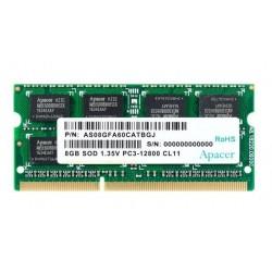 Pamięć SODIMM DDR3 APACER 8GB (1x8GB) 1600MHz DDR3L CL11 1,35V 512x8