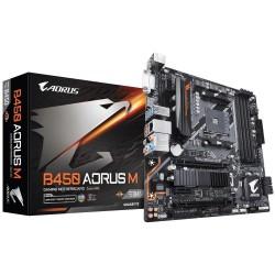 Płyta Gigabyte B450 AORUS M/AMD B450/DDR4/SATA3/M.2/USB3.1/PCIe3.0/AM4/mATX