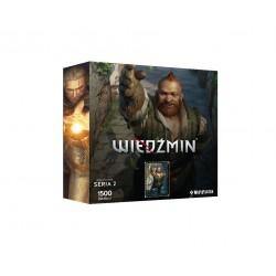 """Puzzle 1500 szt. Bohaterowie Wiedźmina - Seria II """"Zoltan"""""""