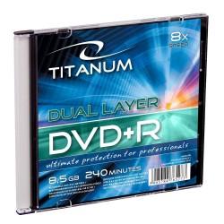DVD+R Titanum 8x 8,5GB (Slim 1)