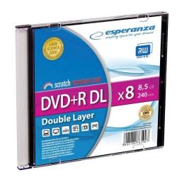 DVD+R Esperanza DL 8X 8,5GB (Slim 1)