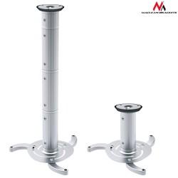 Uchwyt sufitowy Maclean MC-517 S do projektora 80-980mm 10kg srebrny