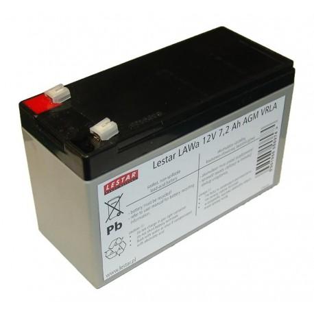 Akumulator żelowy wymienny Lestar LAWa 12V 7,2Ah AGM VRLA