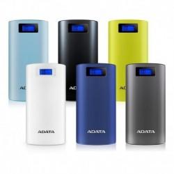 Powerbank ADATA P20000D 20000mAh niebieski