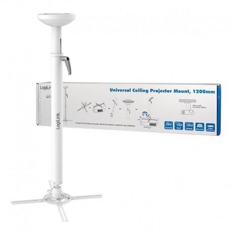 Uchwyt sufitowy LogiLink BP0053 do projektora, ramię 820-1200 mm