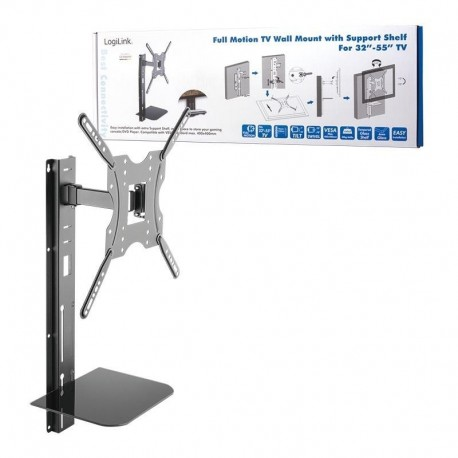 "Uchwyt ścienny LogiLink BP0048 do telewizora LCD/LED VESA 400x400, 32-55"""