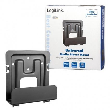 Uchwyt ścienny LogiLink BP0049 do odtwarzacza multimediów, uniwersalny