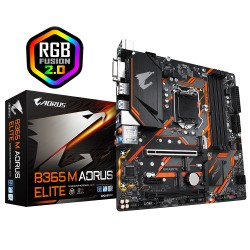 Płyta Gigabyte B365M AORUS ELITE/B365/DDR4/SATA3/USB3.0/PCIe3.0/s.1151/mATX