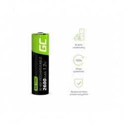 Akumulator Green Cell 4x AA HR6 2600mAh