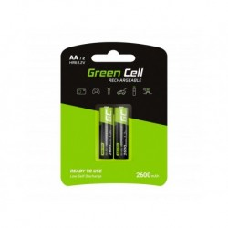 Akumulator Green Cell 2x AA HR6 2600mAh