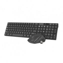 Zestaw bezprzewodowy klawiatura + mysz Natec Stingray czarny