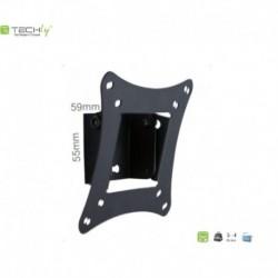 """Uchwyt ścienny LCD/LED Techly 13""""-30"""", 15kg czarny, uchylny"""