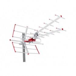 Antena TV DVB-T Maclean MCTV-855 zewnętrzna, Combo UHF VHF pasywna max 100dBµV, filtr Lte