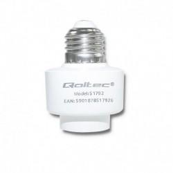 Gniazdo żarówki E27 Wi-Fi Smart Qoltec | biały