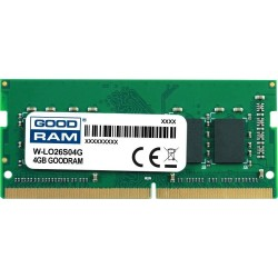 Pamięć DDR4 GOODRAM SODIMM 4GB 2666MHz ded. do LENOVO (W-LO26S04G)