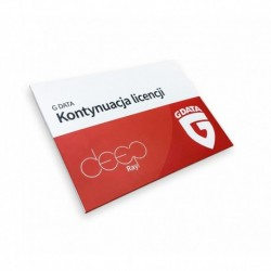 G DATA Internet Security KONT 3PC 1ROK BOX