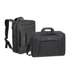 """Torba/plecak na notebook 16"""" RivaCase Central czarna"""