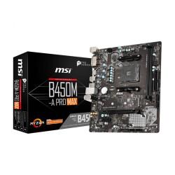 Płyta MSI B450M-A PRO MAX /AMD B450/DDR4/SATA3/M.2/USB3.1/PCIe3.0/AM4/mATX