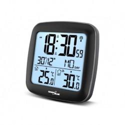 Stacja pogody bezprzewodowa GreenBlue GB542 z systemem DCF kalendarz, alarm