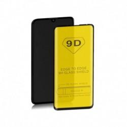 Szkło ochronne hartowane PREMIUM Qoltec do Samsung Galaxy M40 | 9D | Pełne | Czarne