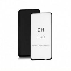 Szkło ochronne hartowane PREMIUM Qoltec do Huawei Y9 Prime | 6D | Pełne | Czarne