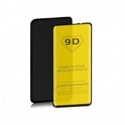 Szkło ochronne hartowane PREMIUM Qoltec do Xiaomi Mi Mix3 | 9D | Pełne | Czarne