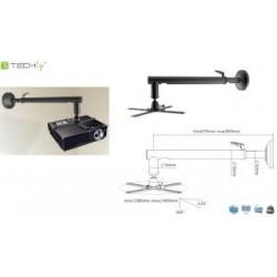 Ramię do projektora Techly ICA-PM 1603M 67-90 cm. ścienne, czarne